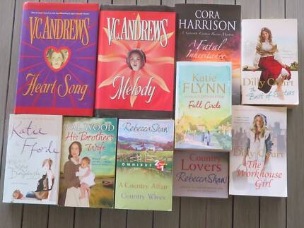 A selection of 10 novels for Ladies