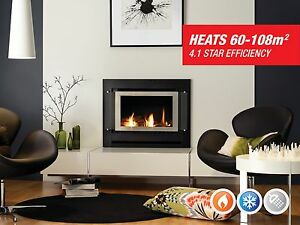 Rinnai Sapphire Gas Log Fire Upper Ferntree Gully Knox Area Preview