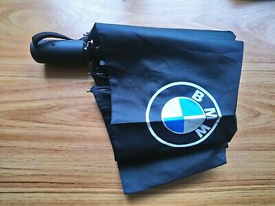 1X Fully-automatic umbrella in black with BMW logo.