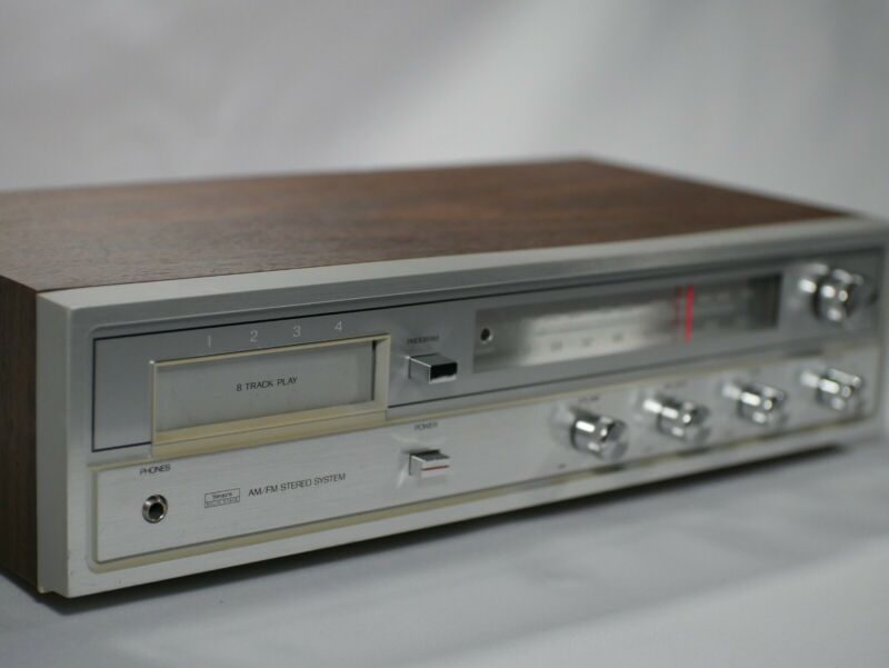 VINTAGE Sears 400.91308900 8 Track Player Great Condition Free Shipping PowersOn
