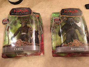 Narnia Tyrus and Asterius action figures