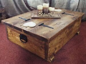 Chest Coffee Table eBay