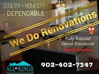 Affordable rennovations
