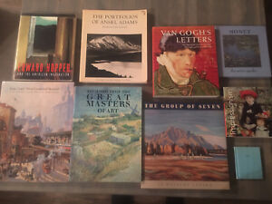 Large Art Book Collection