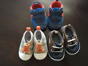 Baby boy shoes 6-9 months