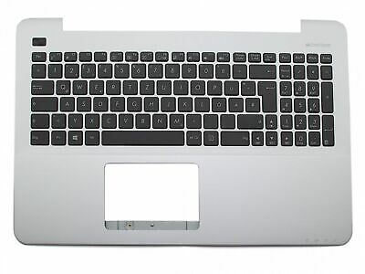 13N0-R7A0913 Original Asus Tastatur inkl. Topcase DE (deutsch) schwarz/silber