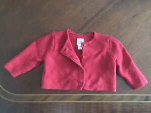Red Baby Gap Sweater - New