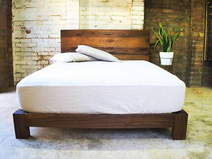 LBF Handmade Reclaimed Recycled Timber Wood Bed