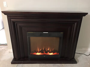 Wooden Electrical Fireplace
