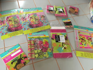 Monkey Birthday Party Supply Lot $25