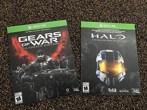 Gears of war collection et Halo