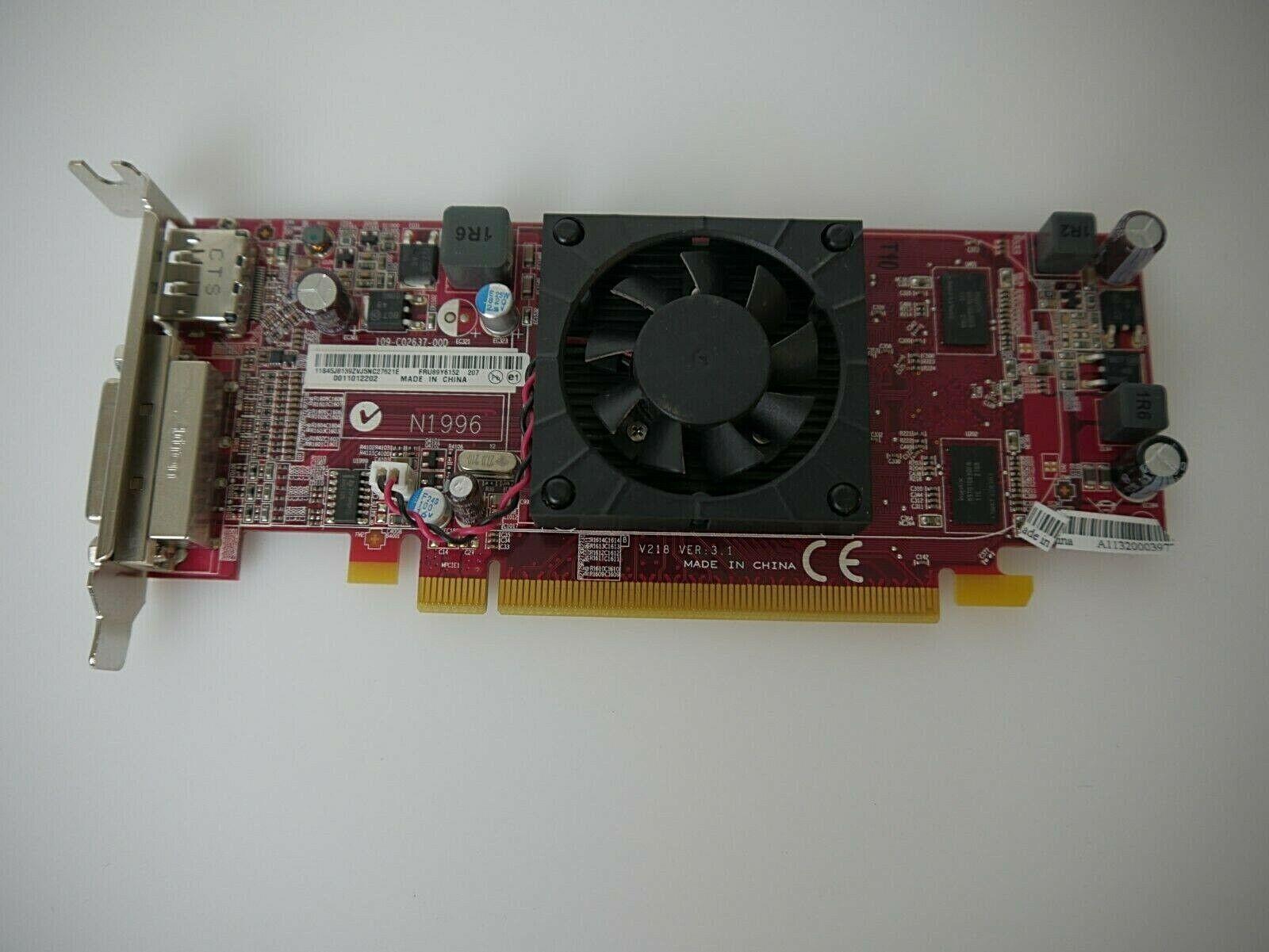 Lenovo AMD Radeon HD 7350 N1996 Grafikkarte V218 3.1 512MB
