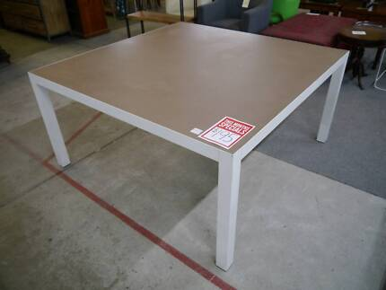 Used Office Square Meeting Room Conference Boardroom Table
