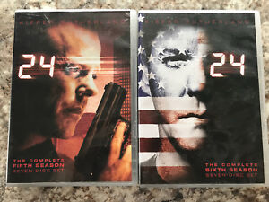 24 - The Complete 5th and 6th Seasons - DVD