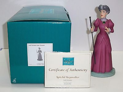 "WDCC CINDERELLA LADY TREMAINE ""SPITEFUL STEPMOTHER"" SIGNED BY ILENE WOODS"
