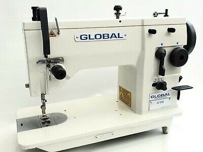 GLOBAL ZZ 509 Full Industrial Sewing Machine & Motor. Leather, Canvas, etc...