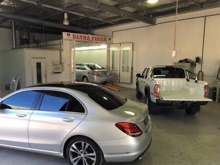 Spray Painting Panel and Dent Repair Business
