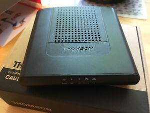 DCM476 Thomson cable modem