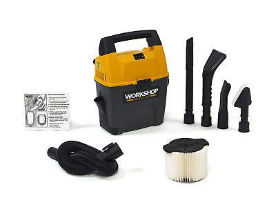 WORKSHOP Wet/Dry Vacs 3 Gallon 3.5 Peak HP Portable Wet/Dry