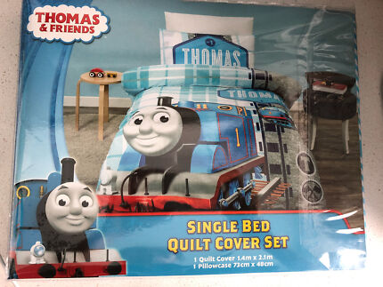 Thomas the train single quilt cover