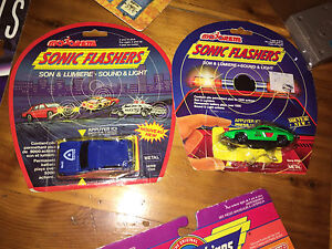 Old-school sonic flasher cars