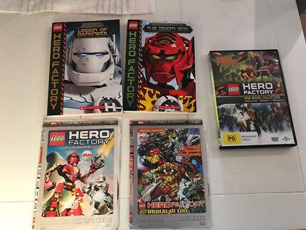 Hero Factory Books & DVD's