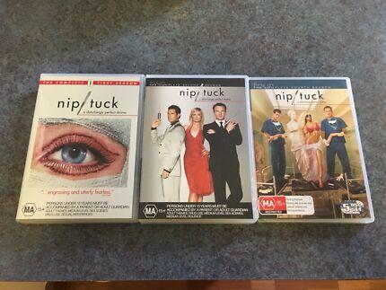 Nip/Tuck Seasons 1,2 &4 $10