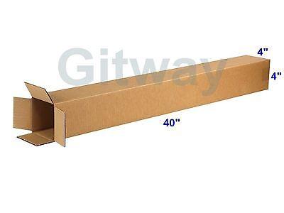 25 4x4x40 Tall Long Cardboard Shipping Golf Club Driver Pole Box Boxes 40x4x4
