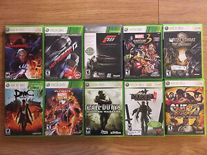 Xbox 360 Awesome titles - $10 each or 3 for $20