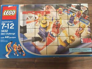 Lego NBA Challenge Complete with Extras