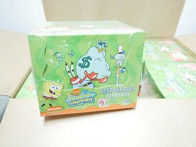 Used, SpongeBob SquarePants Deep Sea Duel Starter Deck Case of 12 New Factory Sealed for sale  Shipping to India