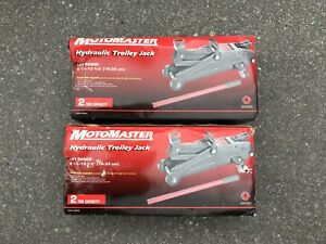 2 Ton Hydraulic Trolley Jacks (pair)