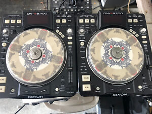 Denon DNS 3700 Turntables.