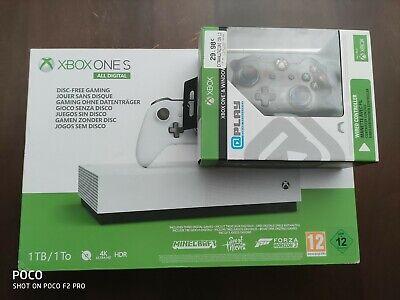 Microsoft Xbox One S All-Digital Edition 1TB Console per videogiochi - Bianco