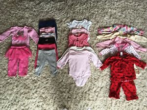Baby girl clothing lot (3-6 months)
