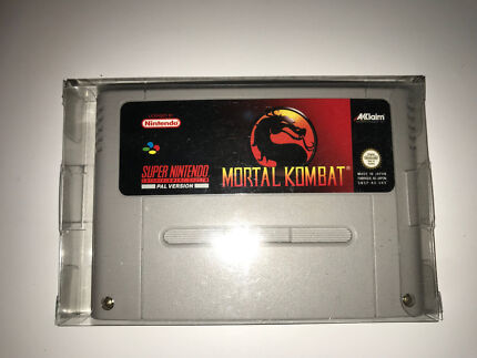 Mortal Kombat SNES (Pal Version) Collaroy Manly Area Preview