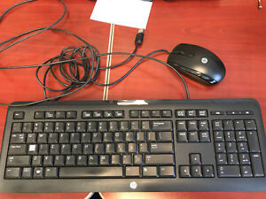 HP USB Computer Keyboard and Mouse