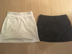 Assorted skorts, shorts, and pants