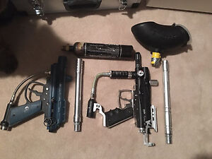 Old paintball gear