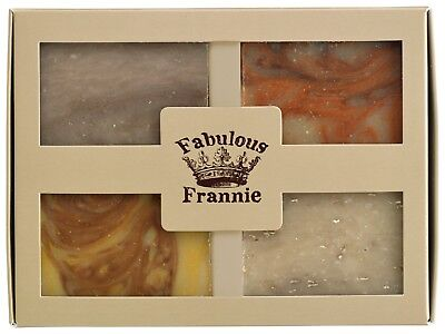 Soap Earth Gift Set - All Natural with Essential Oils by Fabulous Frannie Gift Set Soap