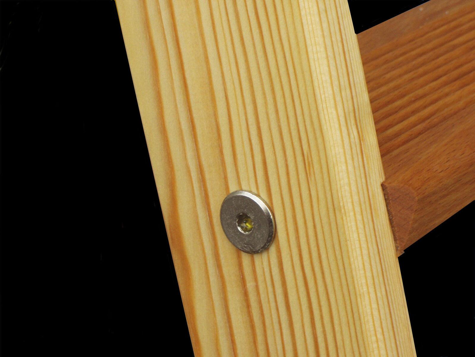 hochbettleiter regalleiter holz 9 stufen f r senkr h he von 2 12 m eur 103 99 picclick de. Black Bedroom Furniture Sets. Home Design Ideas