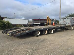 BWS 25 ton tri-axle tilt float
