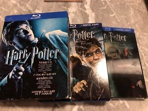 Harry Potter all movies on blu ray