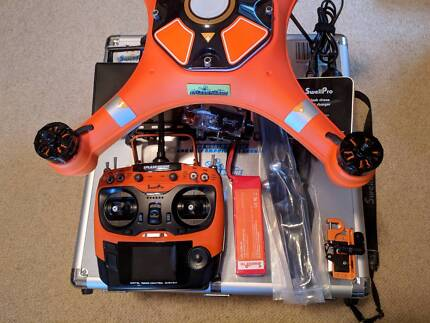 Swellpro Splash Drone Auto v2 Orange Waterproof Quadcopter