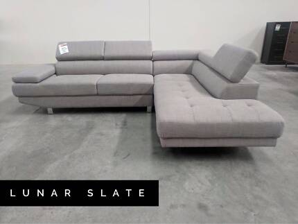 leather sofa in Whittlesea Area VIC Sofas