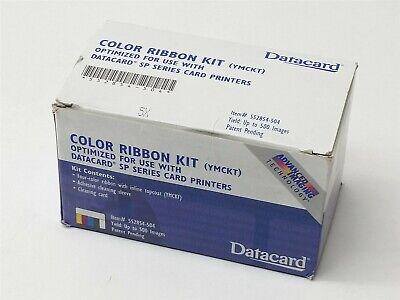 New Datacard Color Ribbon Kit YMCKT SP55 SP35 Card Printer 500 Prints -