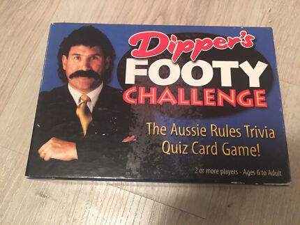 Dipper's Footy Challenge Card Game