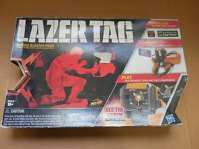 Hasbro Nerf Lazer Tag Single Blaster Pack New