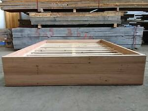 Recycled Blackbutt platform bed, Queen size available now! Melbourne CBD Melbourne City Preview