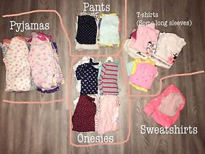 Baby girl clothes 12-18 months - huge lot